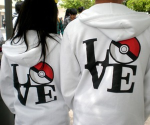 love, couple, and pokemon image