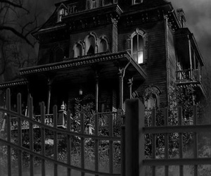 Halloween and haunted house image