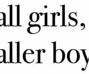 boy, girl, and tall image
