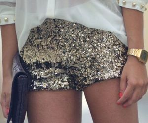 fashion, gold, and outfits image