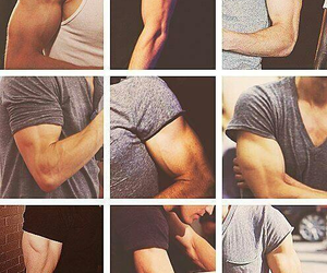 arms, paul wesley, and stefan salvatore image