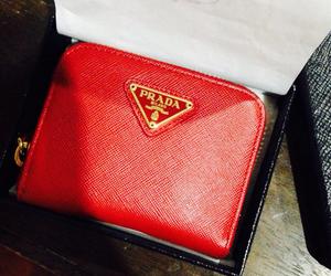 adorable, Prada, and red image