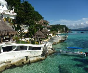 beach, boracay, and Philippines image