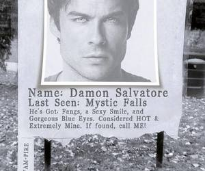 damon salvatore, ian somerhalder, and boyfriend image