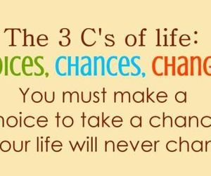 quotes, chance, and change image