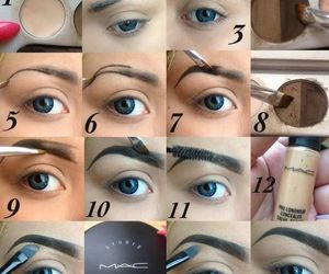 eyebrows and mac image