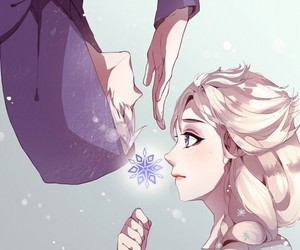 jelsa and frozen heart that movie image