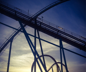 funny, Roller Coaster, and port aventura image