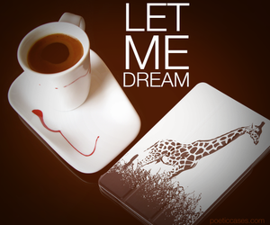 quote, coffee, and Dream image