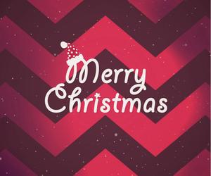 merry christmas, christmas, and red image