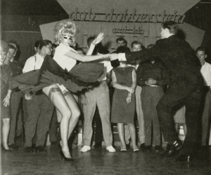 50s, dance, and rockabilly image
