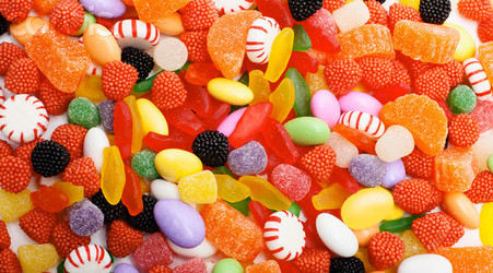 candy and delicious image