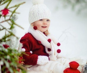 kids, winter, and girl image
