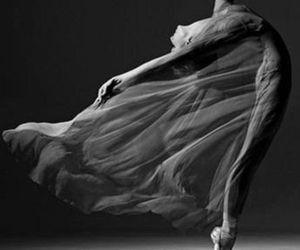ballet, dance, and black image