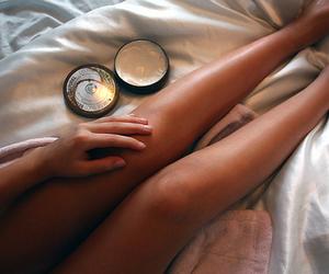 girl, legs, and tan image