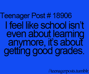 school, grades, and quote image