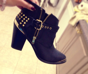 beautiful, black, and booties image