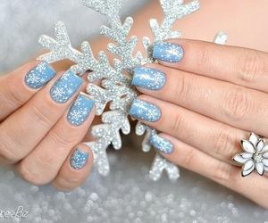 christmas, girly, and nails image