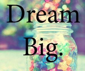 Dream, big, and stars image