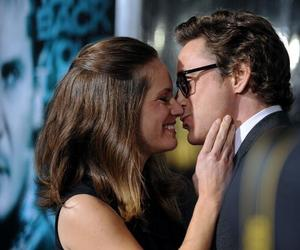 robert downey jr and wife image