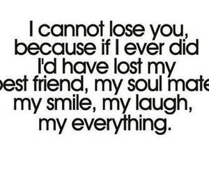 lost, you, and my smile image