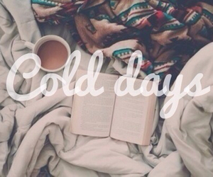 blanket, cold days, and bed image