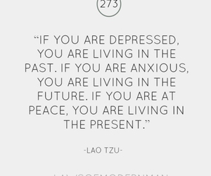 quote, present, and past image
