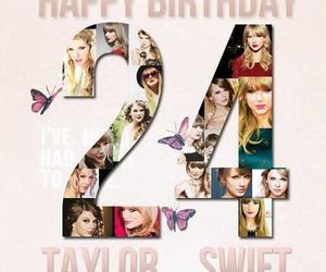 birthday and Taylor Swift image