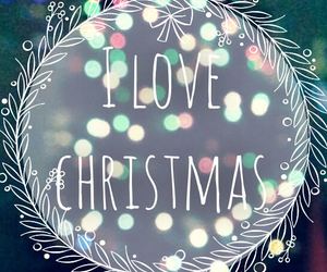 christmas, love, and lights image