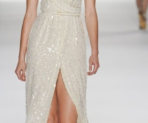 beaded, Couture, and ellie saab image