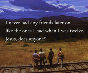 stand by me, vintage, and stand by me movie image