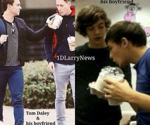 tom daley, larry stylinson, and louis tomlinson image