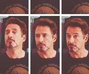iron man, perfect, and rdj image