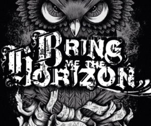bring me the horizon, owl, and bmth image