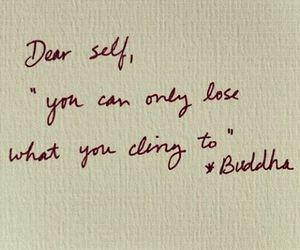 quote, Buddha, and self image