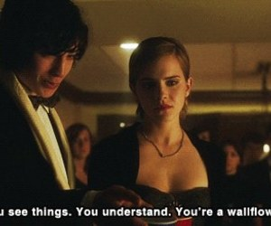 emma watson, wallflower, and quotes image