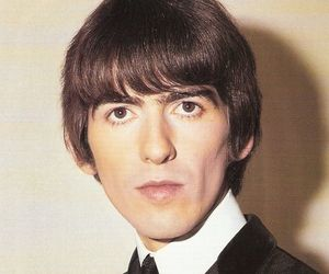 george harrison, the beatles, and 60s image