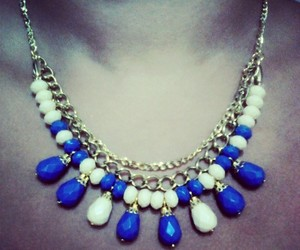 collar, necklace, and v image