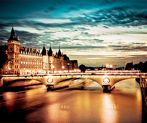 city, bridge, and london image