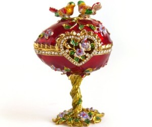 faberge egg, jewelry box, and vintage image