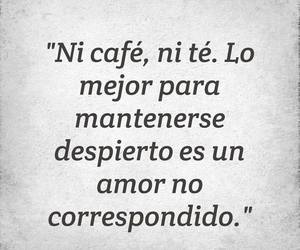 love, cafe, and te image