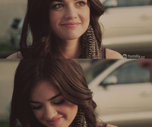 pretty little liars, lucy hale, and aria image