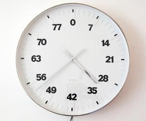 art, clock, and life image