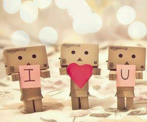 <3, cute, and love image