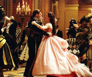couple, dance, and dress image