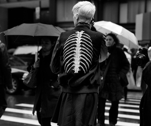 black, skeleton, and black and white image