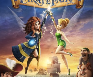 disney, movie, and tinkerbell image
