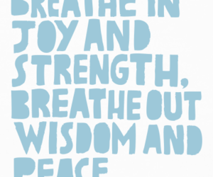 joy, peace, and quote image