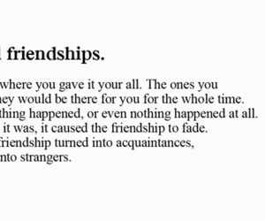 friendships, life quotes, and broken friendship image