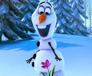 flower, cute, and olaf image